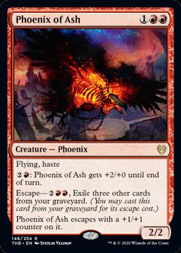 《灰のフェニックス/Phoenix of Ash》[THB] 赤R