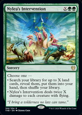 《ナイレアの介入/Nylea's Intervention》[THB] 緑R