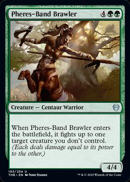 《フィーリーズ団の喧嘩屋/Pheres-Band Brawler》[THB] 緑U
