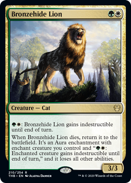 《青銅皮ライオン/Bronzehide Lion》[THB] 金R