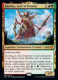 Klothys, God of Destiny