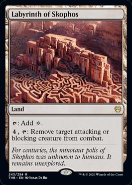 《スコフォスの迷宮/Labyrinth of Skophos》[THB] 土地R