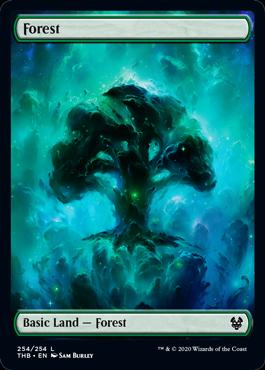 【Foil】《森/Forest》[THB] 土地(254)