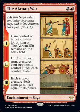 《アクロス戦争/The Akroan War》[THB] 赤R