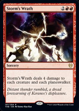 《嵐の怒り/Storm's Wrath》[THB] 赤R