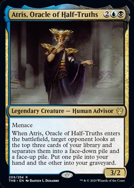 《半真実の神託者、アトリス/Atris, Oracle of Half-Truths》[THB] 金R