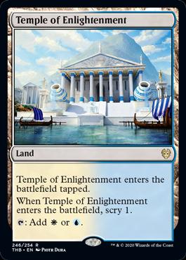 《啓蒙の神殿/Temple of Enlightenment》[THB] 土地R