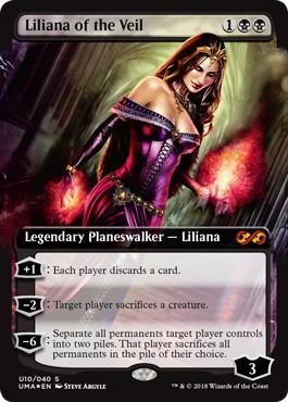 【Foil】《ヴェールのリリアナ/Liliana of the Veil》[UBT] 黒