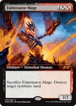 【Foil】《大爆発の魔道士/Fulminator Mage》[UBT] 混