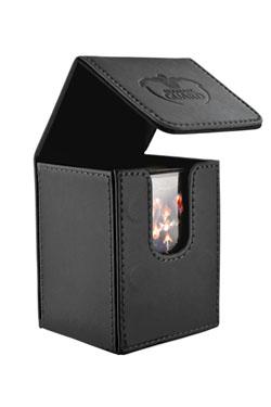 アルティメットガード社 フリップデッキケース 100+ 革風 (黒) :UGD010394