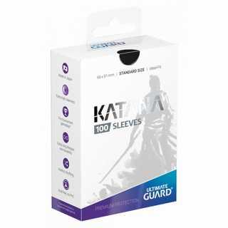 アルティメットガード社 スタンダードサイズ KATANA スリーブ (黒) 100枚入り :UGD010112