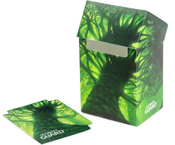 アルティメットガード社 デッキケースLands Edition(森) 80+ :UGD010634