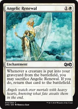 【Foil】《蘇生の天使/Angelic Renewal》[UMA] 白C