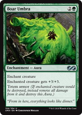 《猪の陰影/Boar Umbra》[UMA] 緑U