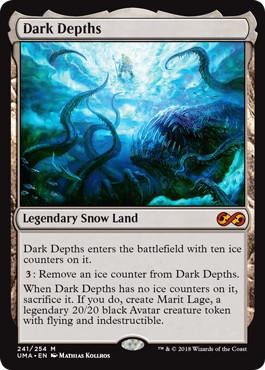 《暗黒の深部/Dark Depths》[UMA] 土地R