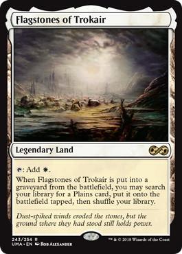 《トロウケアの敷石/Flagstones of Trokair》[UMA] 土地R