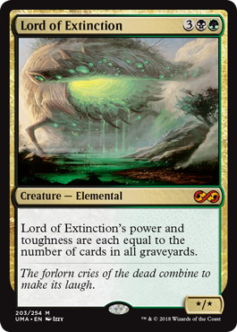 《絶滅の王/Lord of Extinction》[UMA] 金R