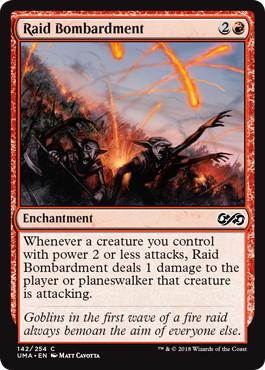 《略奪の爆撃/Raid Bombardment》[UMA] 赤C