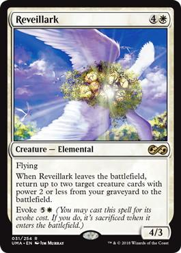 《目覚ましヒバリ/Reveillark》[UMA] 白R