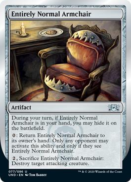 《Entirely Normal Armchair》[UND] 茶U