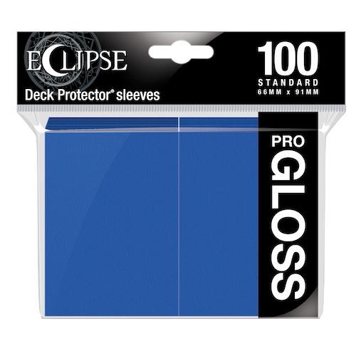 ウルトラ・プロ デッキプロテクタースリーブ ECLIPSE GLOSS (パシフィック・ブルー) 100枚入り