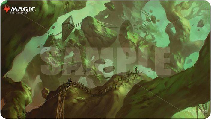 ウルトラ・プロ MTG プレイマット ゼンディカーの夜明け《樹木被りの小道》P1168