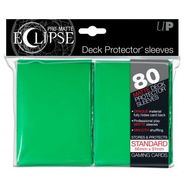 デッキプロテクタースリーブ ECLIPSE (緑) 80枚入り