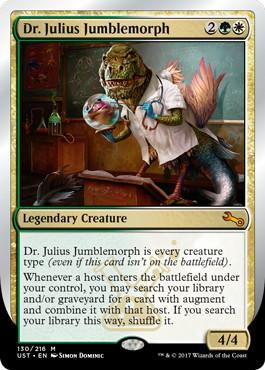 【Foil】《Dr. Julius Jumblemorph》[UST] 金R