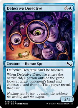 《Defective Detective》[UST] 青C