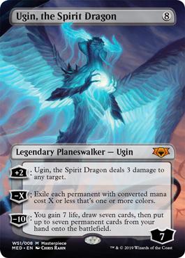 【Foil】《精霊龍、ウギン/Ugin, the Spirit Dragon》[MED-WAR]無