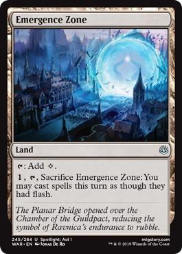 《出現領域/Emergence Zone》[WAR] 土地U