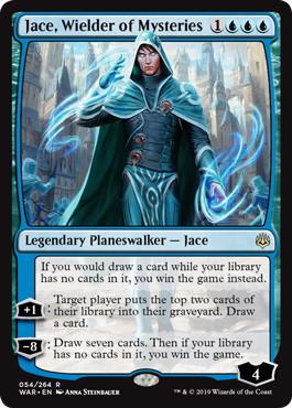 《神秘を操る者、ジェイス/Jace, Wielder of Mysteries》[WAR] 青R