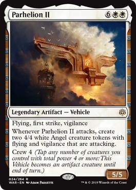 《パルヘリオンII/Parhelion II》[WAR] 白R