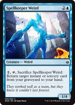Spellkeeper Weird