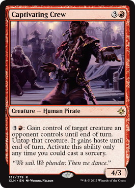 《蠱惑的な船員/Captivating Crew》[XLN] 赤R