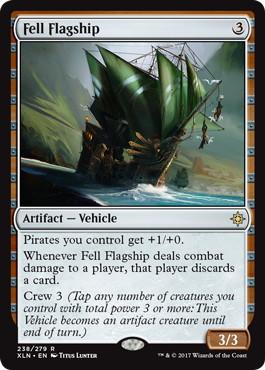 《不吉な旗艦/Fell Flagship》[XLN] 茶R