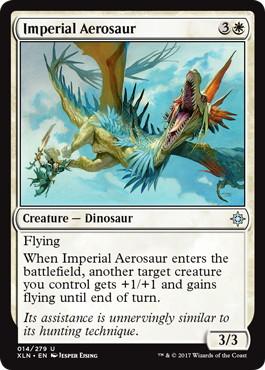 《帝国のエアロサウルス/Imperial Aerosaur》[XLN] 白U