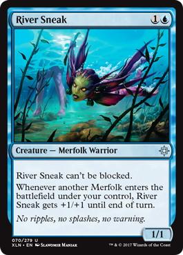《川潜み/River Sneak》[XLN] 青U