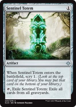 《歩哨のトーテム像/Sentinel Totem》[XLN] 茶U