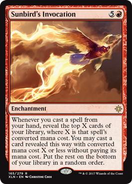 《太陽鳥の祈祷/Sunbird's Invocation》[XLN] 赤R