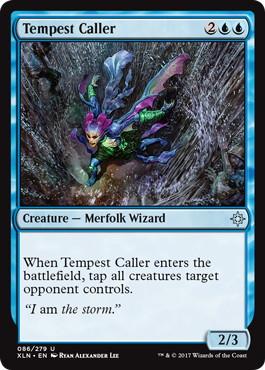 《大嵐呼び/Tempest Caller》[XLN] 青U