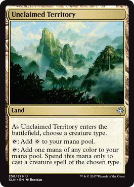 《手付かずの領土/Unclaimed Territory》[XLN] 土地U