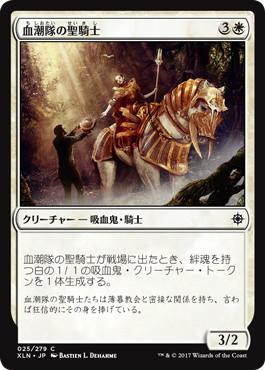 血潮隊の聖騎士