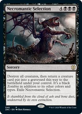 《屍術淘汰/Necromantic Selection》[ZNC] 黒R