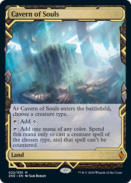 【Foil】《魂の洞窟/Cavern of Souls》[ZNE]