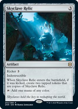 《スカイクレイブの秘宝/Skyclave Relic》[ZNR] 茶R