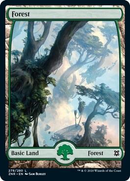 《森/Forest》[ZNR] 土地(278)