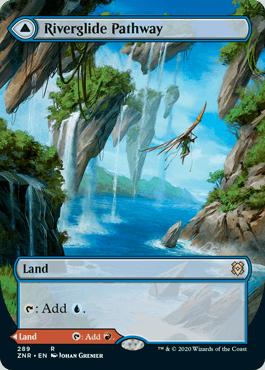 ■拡張アート■《河川滑りの小道/Riverglide Pathway》[ZNR-BF] 土地R