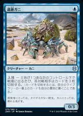 《遺跡ガニ/Ruin Crab》[ZNR] 青U