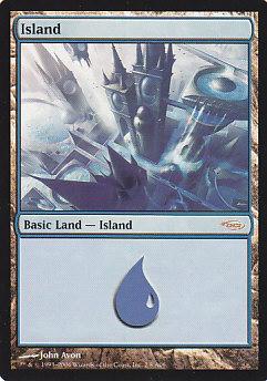 《島/Island》[ラヴニカ版アリーナランド] 土地